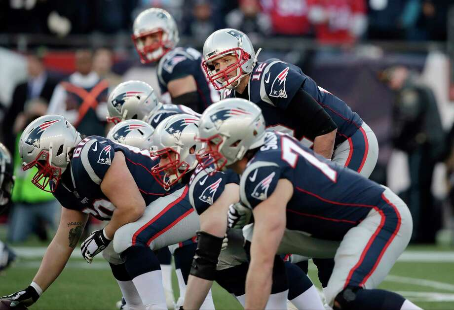 PATRIOTS' THREE KEYS TO VICTORY  1. Their offensive line has to provide Tom Brady with solid pass protection and give him time to find his receivers down the field. Photo: Charles Krupa, Associated Press / Copyright 2018 The Associated Press. All rights reserved.