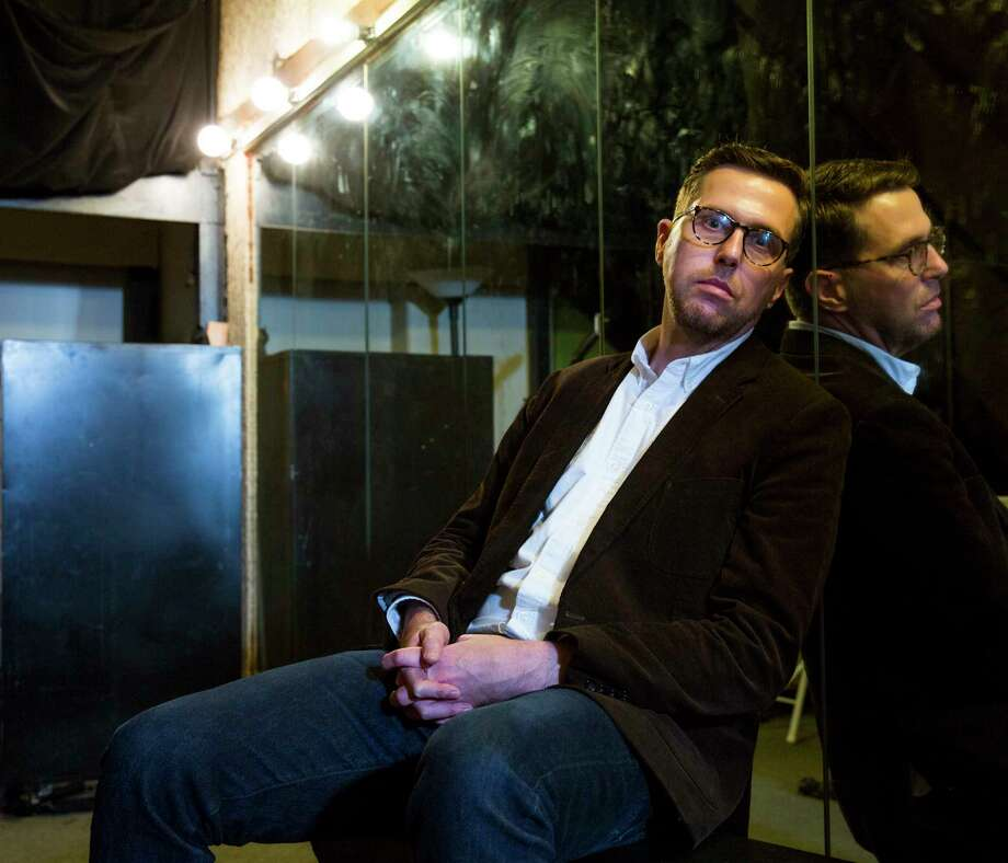 Jon-Marc McDonald, a native of Ft. Worth and Columbia University MFA candidate, has written a play based on his personal experience of being blackmailed for his sexual orientation at the time of the James Byrd hate crime in Jasper, Texas. Photo: Ben Sklar, Ben Sklar For The Houston Chronicle