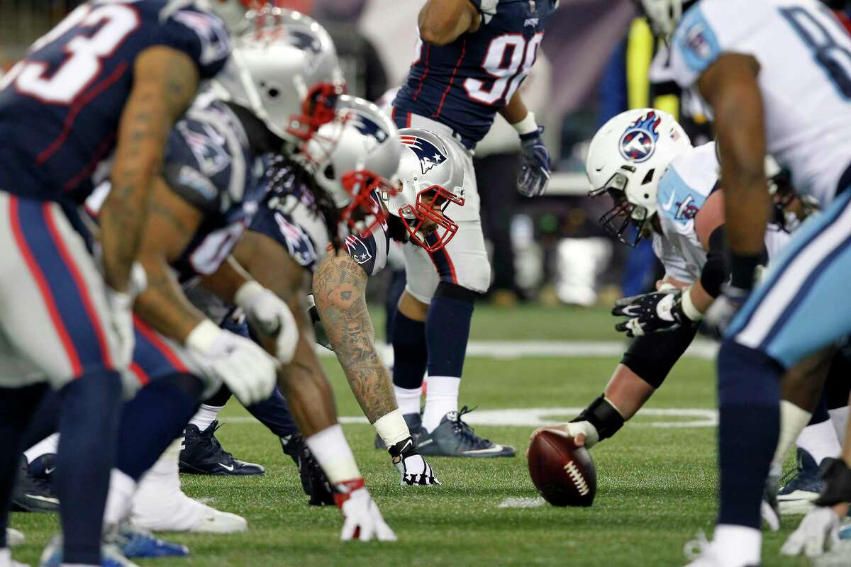 PATRIOTS' THREE KEYS TO VICTORY 2. Their front seven has to contain the Eagles' running game so the pass rushers can get after quarterback Nick Foles.