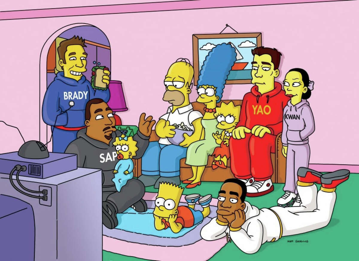 See famous Texans who have appeared on 'The Simpsons'