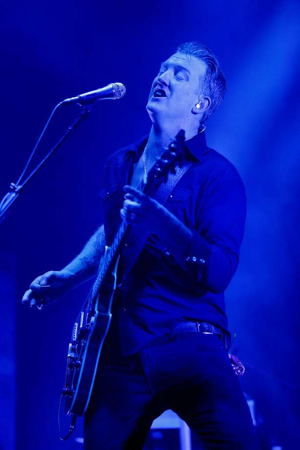 Josh Homme of Queens of the Stone Age performs at the Bill Graham Civic Auditorium, Thursday, Feb. 1, 2018, in San Francisco, Calif. Photo: Santiago Mejia, The Chronicle