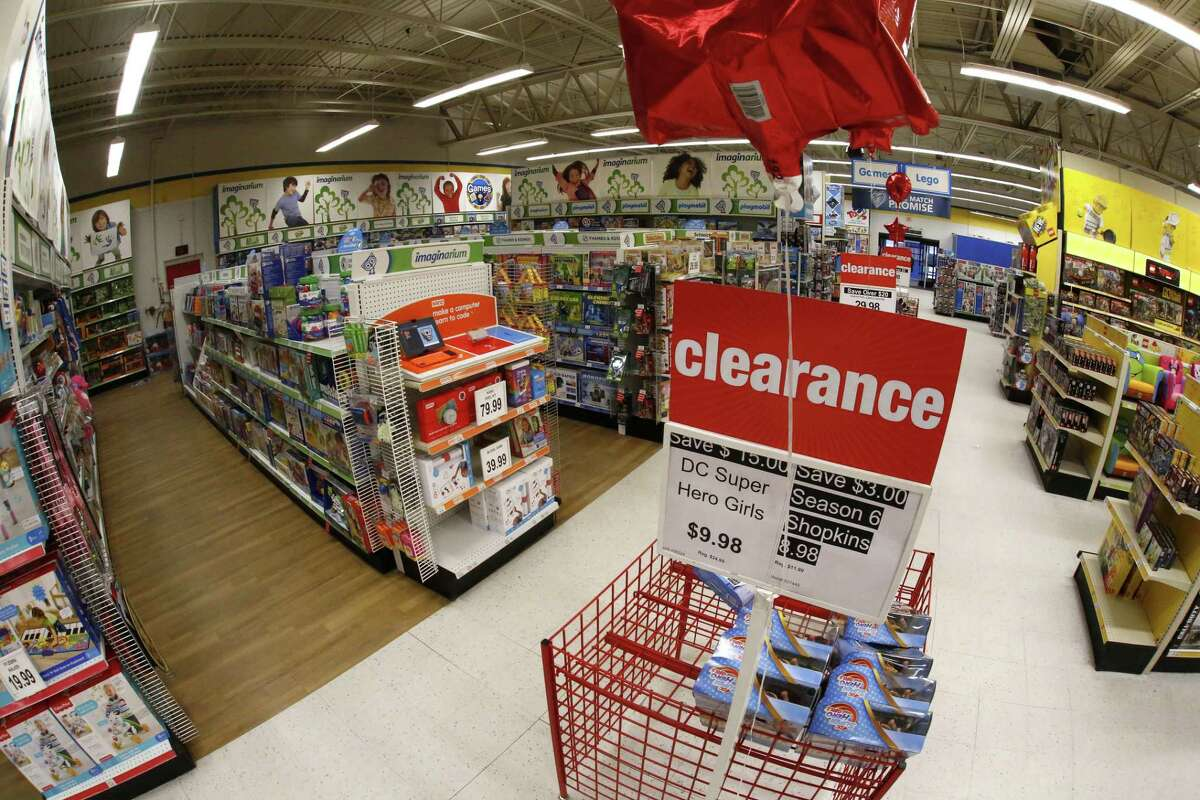 A Toys R Us clearance sale underway in late January in Pittsburgh. (AP Photo/Gene J. Puskar)