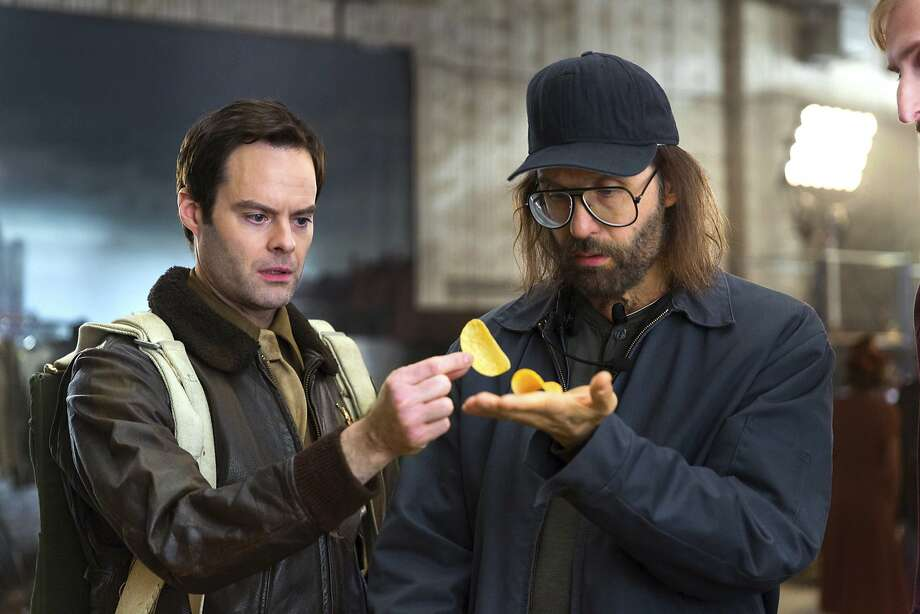 Top: Monster Products will run its first TV commercial, a 60-second spot starring rapper Iggy Azalea, during Sunday's Super Bowl.  Above: Bill Hader (left) will headline a Pringles commercial. Photo: Rob Kalmbach, Associated Press