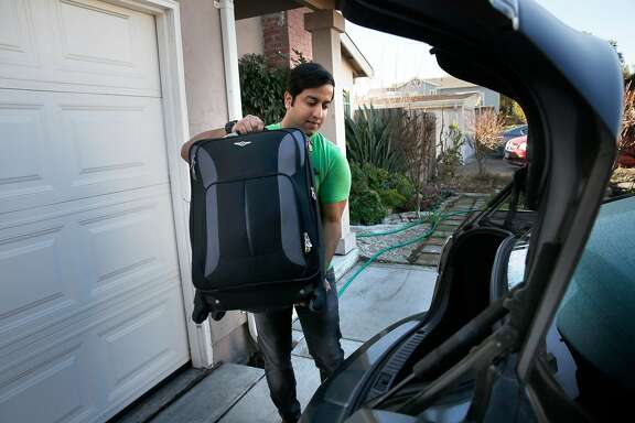 Lemuel D'Souza is moving out of his shared home in Santa Clara, Calif., as seen on Wednesday Jan. 31, 2018. D'Souza, an H-1B holder from India, is picking up and leaving the country and returning to India rather than wait years for a green card that would allow him to start his own business here.