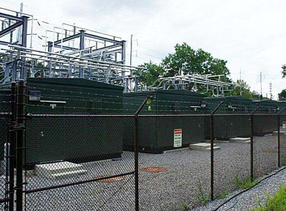 This Connecticut Light & Power substation near the Greens Farms Railroad Station is one of the holdings that again placed the electric utility at the top of the town's list of biggest taxpayers in 2017. Photo: Westport News / File Photo / Westport News