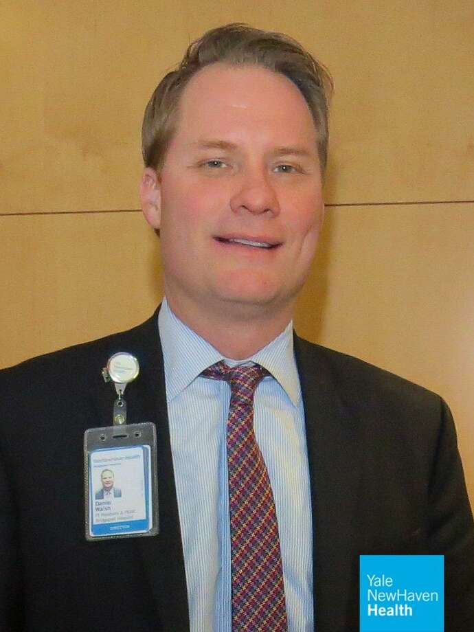 Fairfield resident Dan Walsh has been promoted to vice president of support services and facilities at Bridgeport Hospital. Photo: Contributed Photo
