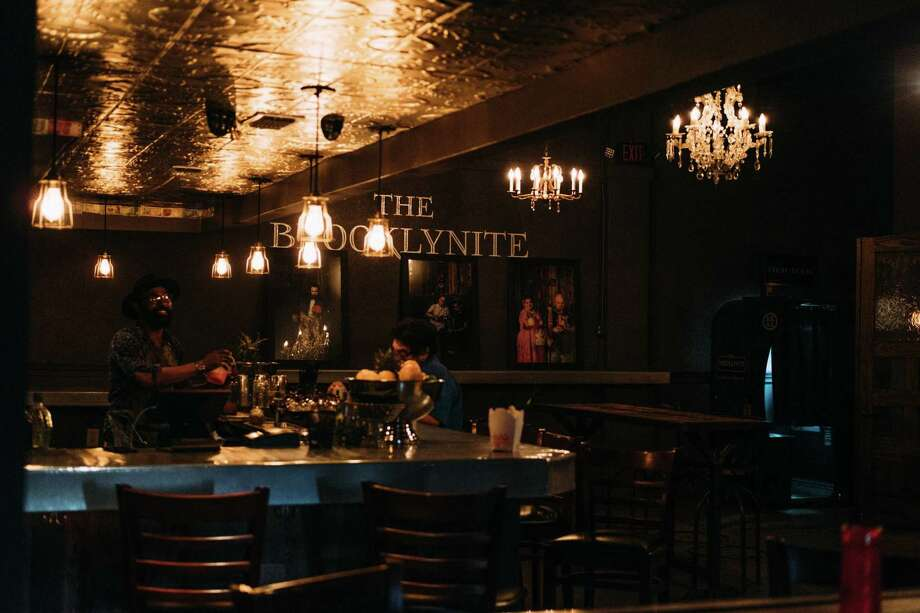 The Brooklynite, known for it's notable craft cocktails, is located at 516 Brooklyn Ave. Photo: Tito West / For The Express-News / tito West