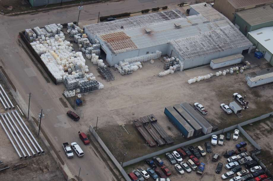 Wright Containers is charged with dumping toxic chemicals down a storm drain. The company  is located in southeast Houston, in the 6300 block of Lindbergh Street, in a mixed-residential-industrial commercial neighborhood within a mile of Gregg Elementary school and Hartman Middle School.