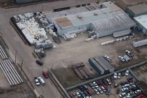 Wright Containers is located in southeast Houston, in the 6300 block of Lindbergh Street, in a mixed-residential-industrial commercial neighborhood within a mile of Gregg elementary school and Hartman middle school.