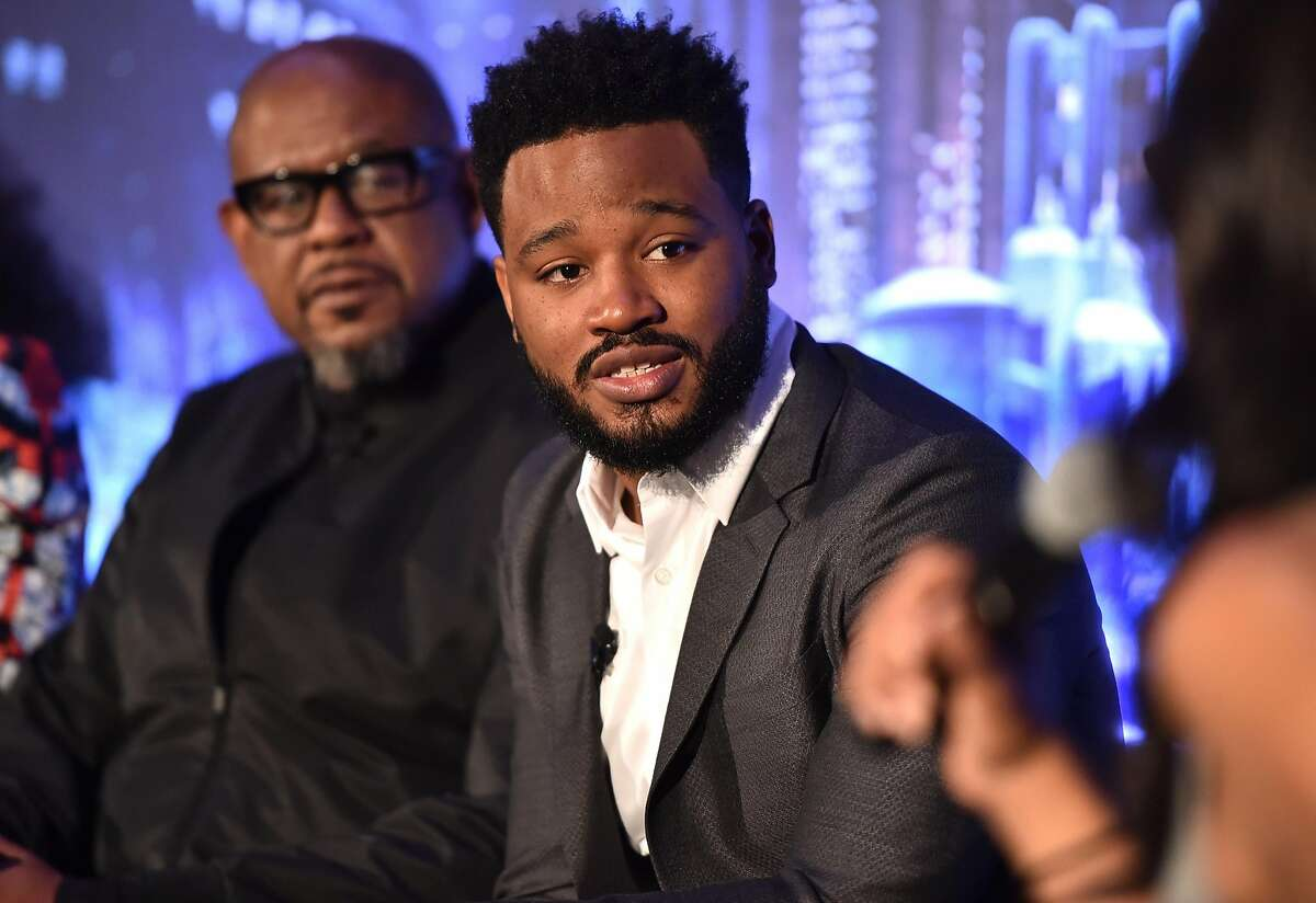 Director Ryan Coogler attends the Marvel Studios' BLACK PANTHER Global Junket Press Conference on January 30, 2018 at Montage Beverly Hills in Beverly Hills, California.