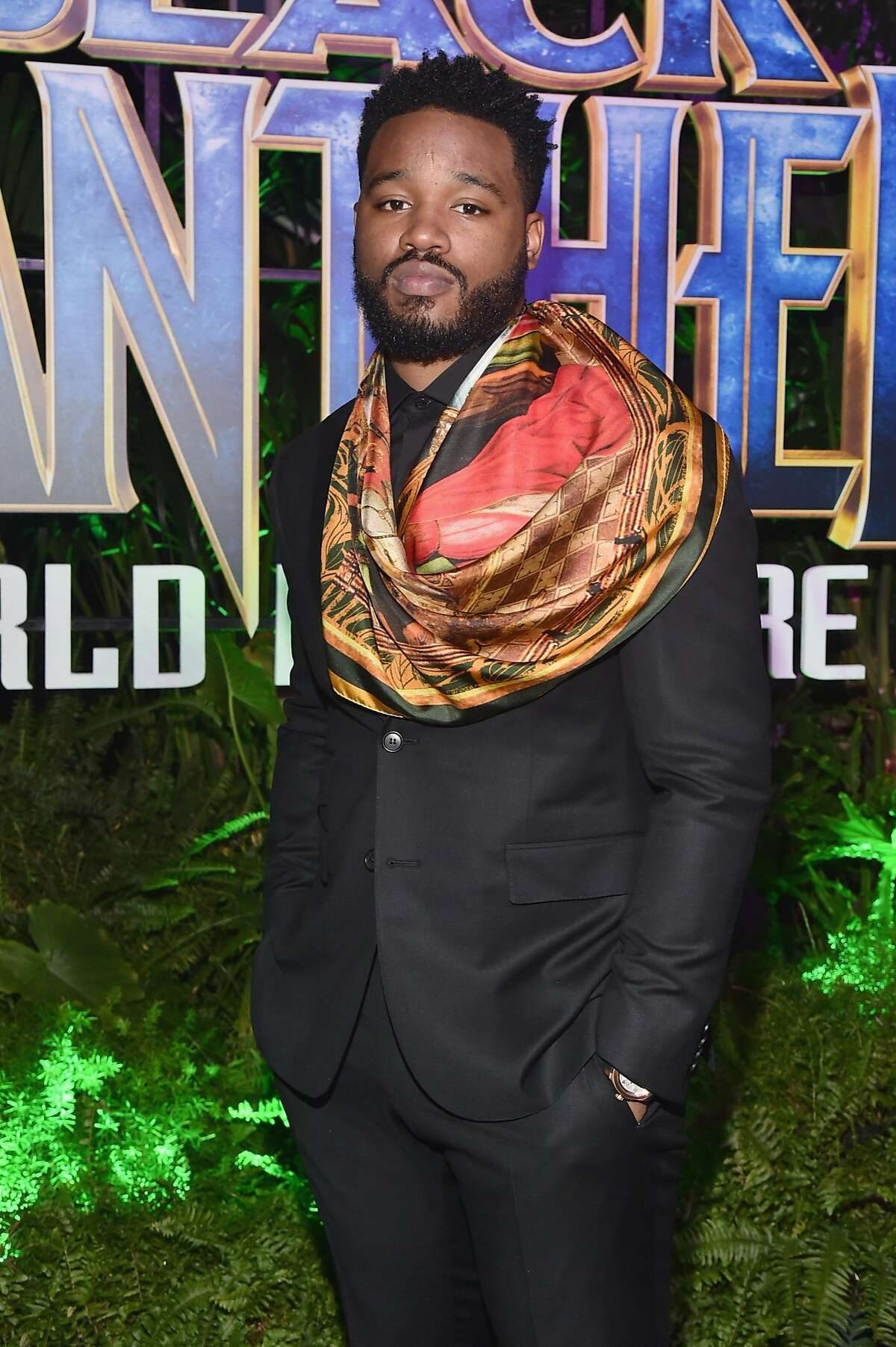 Director Ryan Coogler at the Los Angeles World Premiere of Marvel Studios' BLACK PANTHER at Dolby Theatre on January 29, 2018 in Hollywood, California.