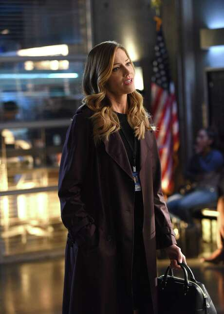 "Tricia Helfer stars in ""Lucifer."" Photo: Fox, HO / TNS"