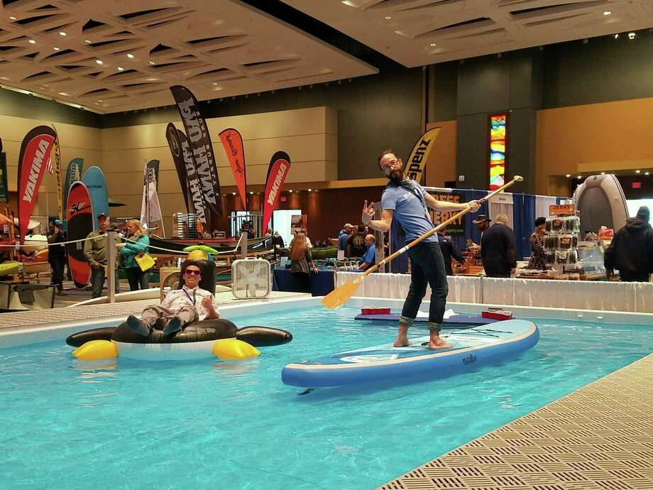 The annual Hartford Boat Show takes place at the Connecticut Convention Center in Hartford Feb. 8-11. Photo: Hartford Boat Show / Contributed Photo
