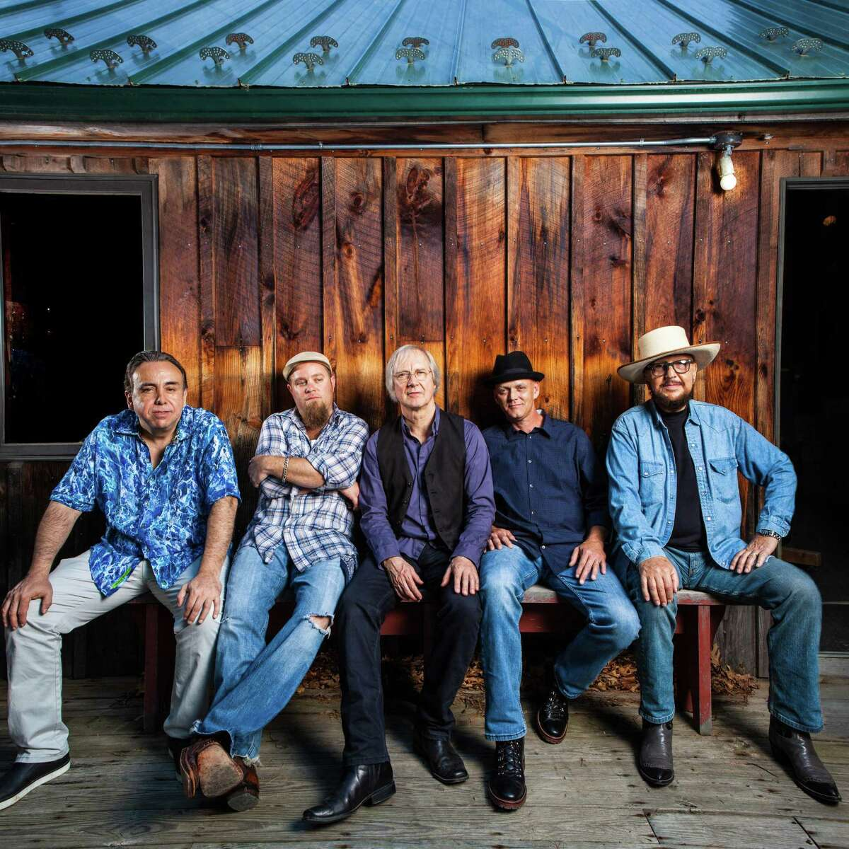 The Weight Band will perform at The Warehouse at Fairfield Theatre Company on Feb. 10, and at Hartford's Infinity Music Hall on Feb. 16. Brian Mitchell, left, Michael Bram, Jim Weider, Albert Rogers and Marty Grebb.