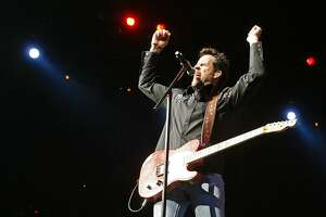 """Gary Allan 7 p.m. Feb. 8 In a black leather coat with a winged skull on the back and flanked by electric guitar players, California country singer Allan rocked the rodeo in 2016 with hits such as """"Watching Airplanes"""" and """"Get Off on the Pain."""" Since debuting in 1996 with the album """"Used Heart for Sale,"""" the L.A. County native has had a handful of No. 1 hits, including """"Nothing on But the Radio"""" and """"Every Storm (Runs Out of Rain)."""" Allan released a new single, """"Mess Me Up,"""" last year and reportedly is at work on a new album."""