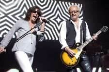 """Foreigner 7:30 p.m. Feb. 23 Celebrating its 40th year, the band that was inescapable on rock radio in the late '70s and early '80s has been playing a few reunion shows, with singer Lou Gramm joining guitarist Mick Jones onstage for the first time in more than a decade. That won't happen at the rodeo — Kelly Hansen, the band's singer since 2005, will be tearing into hits such as """"Cold as Ice,"""" """"Hot Blooded"""" and """"Urgent"""" — though Gramm will be in town in April for a Fiesta gig. A San Antonio high school choir will be chosen to join Foreigner onstage for its majestic hit """"I Want To Know What Love Is."""""""