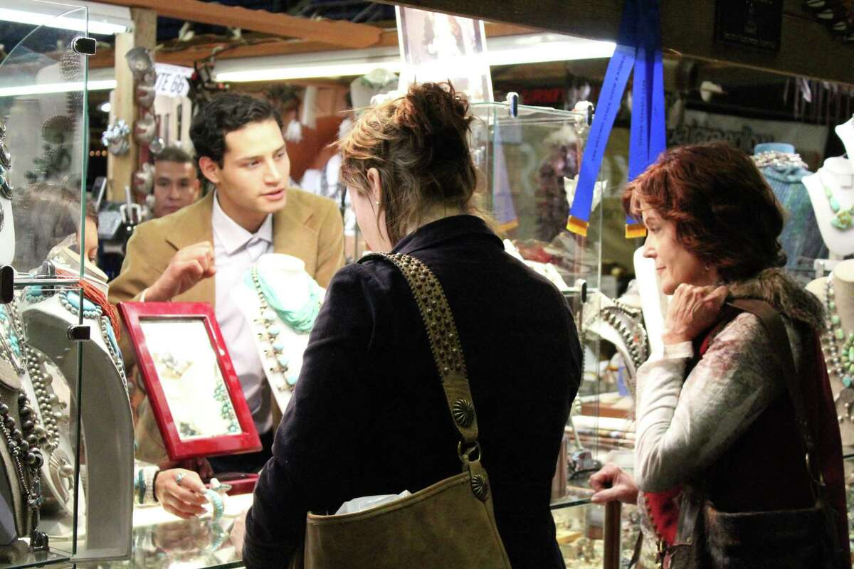 Jewelry, leather goods and a whole lot more can be found in the San Antonio Stock Show & Rodeo shopping tents - free to roam after you've paid to get into the rodeo grounds.