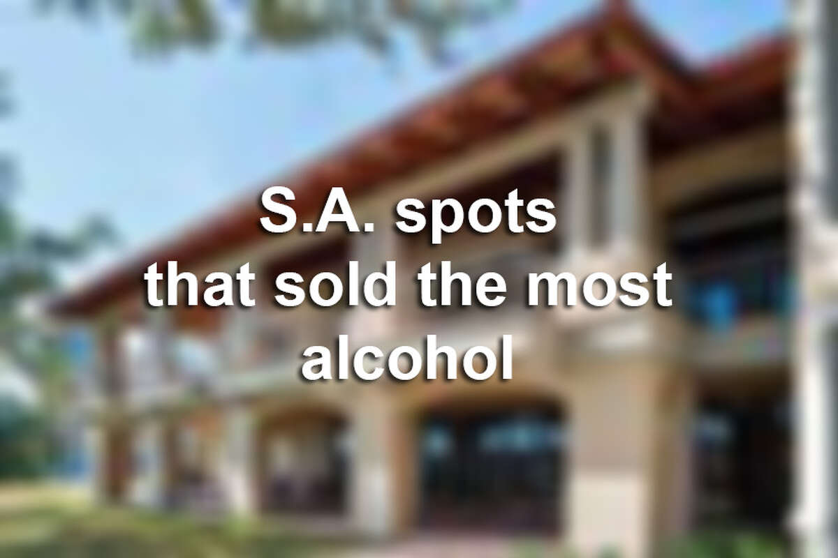 San Antonio hotels, bars and restaurants that reported the highest alcohol sales in December. 2017