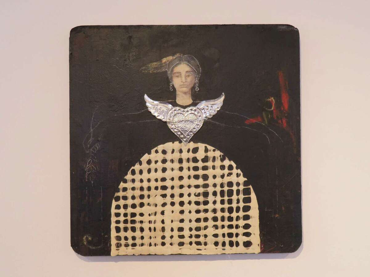 """""""Ascension"""" by Laura Mijangos (1732) is part of the Common Currents exhibition at Artpace."""