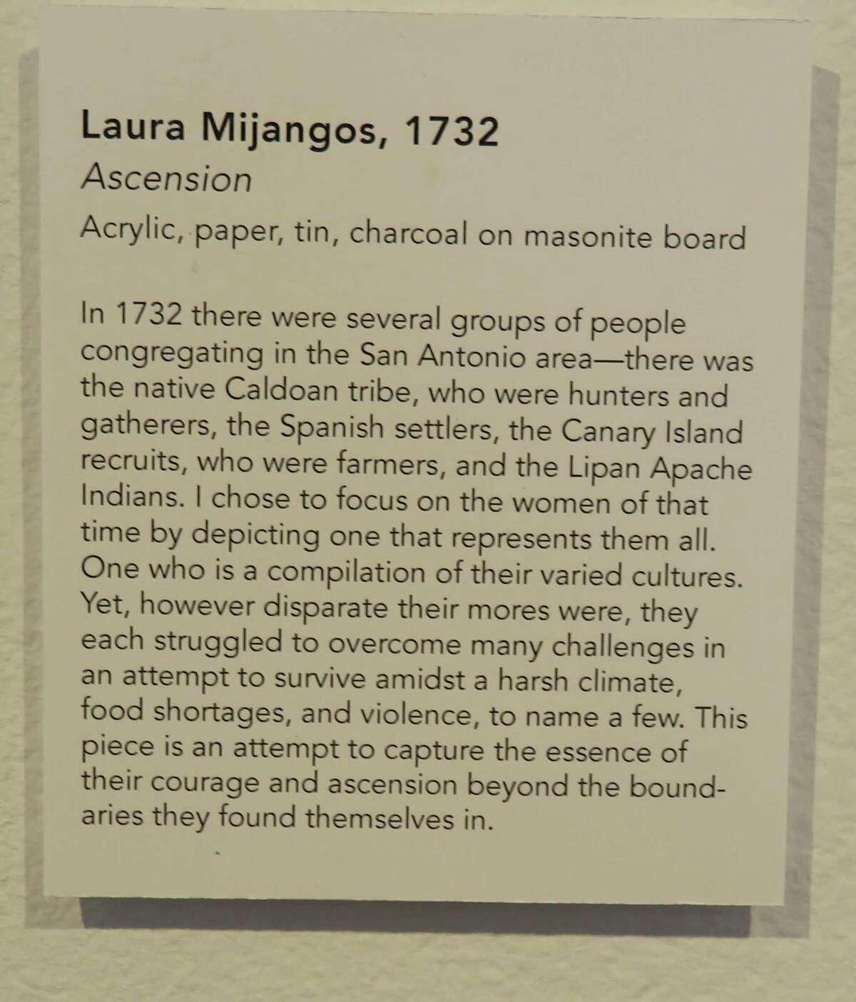 "Laura Mijangos' ""Ascension"" at Artpace."