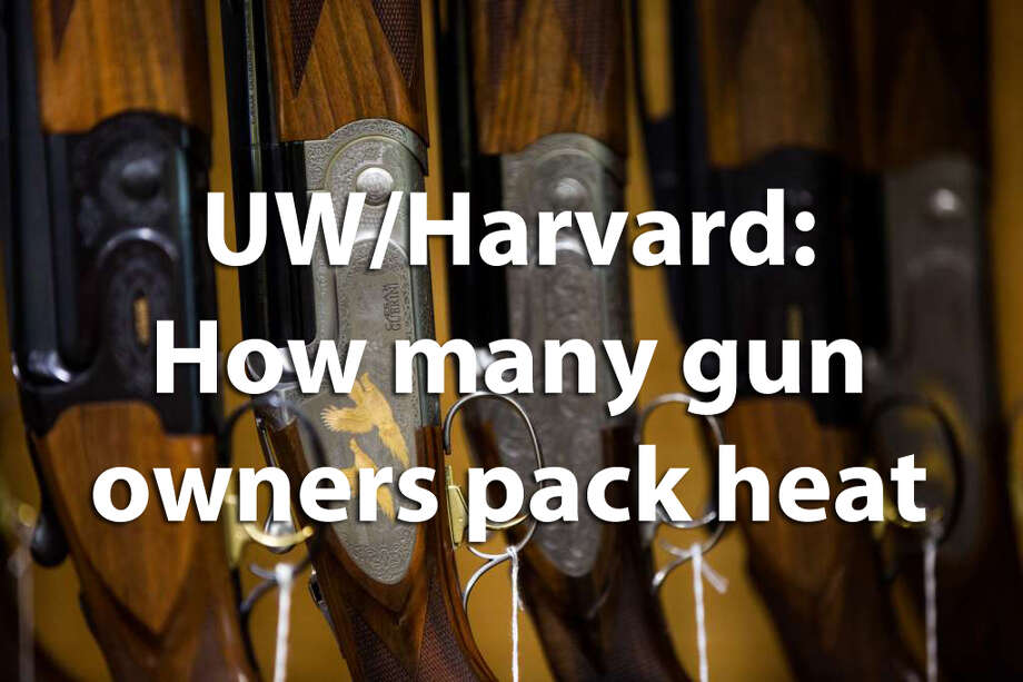 Scholars from the University of Washington and Harvard University recently published a study in the American Journal of Public Health about how many handgun owners carry loaded weapons. Let's break out what they found. Photo: Grant Hindsley/seattlepi.com
