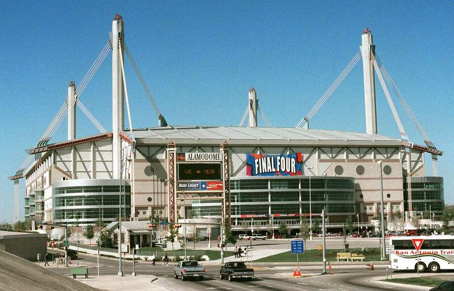 The Alamodome hosted the NCAA Men's Final Four in March 1998. this week. Photo: AP File Photo / AP