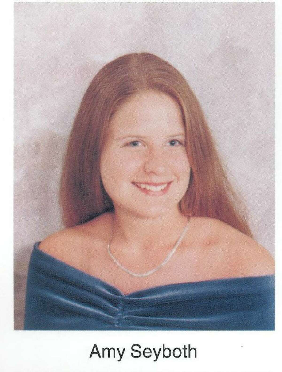 Amy Seyboth Tirador is shown in her 1998 Colonie Central High School senior picture.