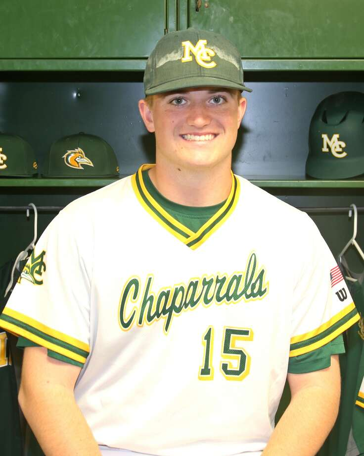 Midland College baseball player Logan McCrummen Photo: Midland College