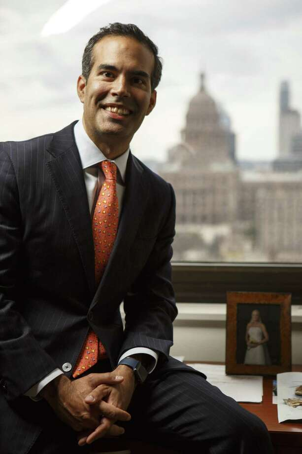 Texas Land Commissioner George P. Bush is in the midst of a re-election campaign against three other Republicans. Photo: Spencer Selvidge /For The San Antonio Express-News / Copyright 2017, Spencer Selvidge for the San Antonio Express-News.