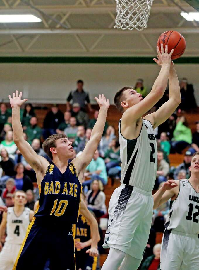 Bad Axe at EPBP — Boys Basketball 2018 Photo: Paul P. Adams/Huron Daily Tribune