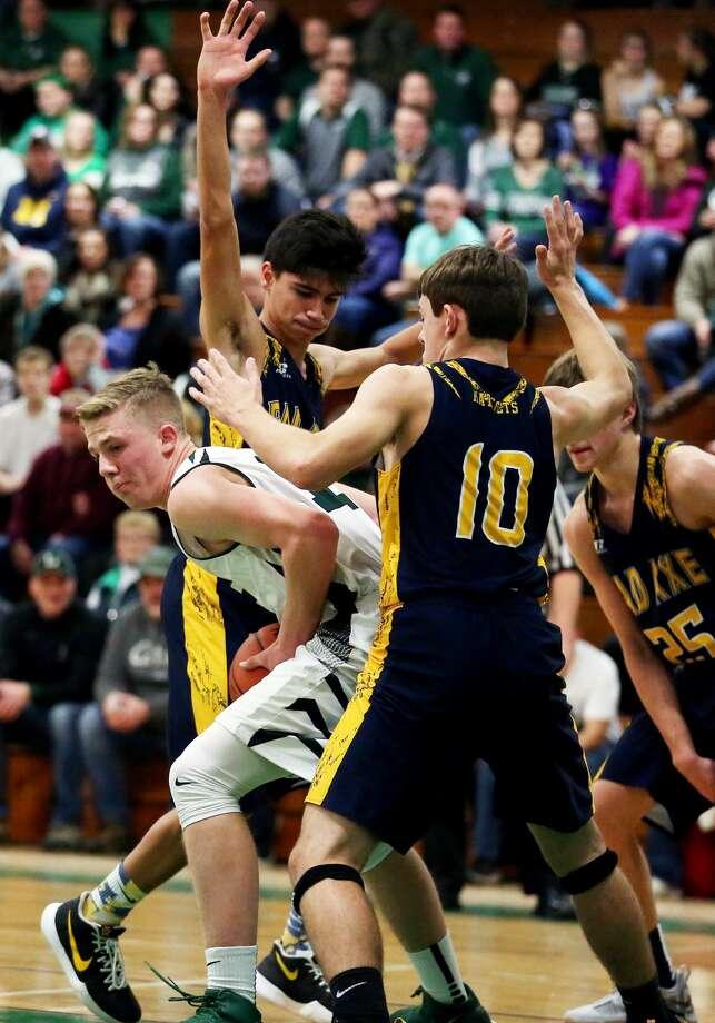 Bad Axe at EPBP — Boys Basketball 2018 Photo: Paul P. Adams/Huron Daily Tribune