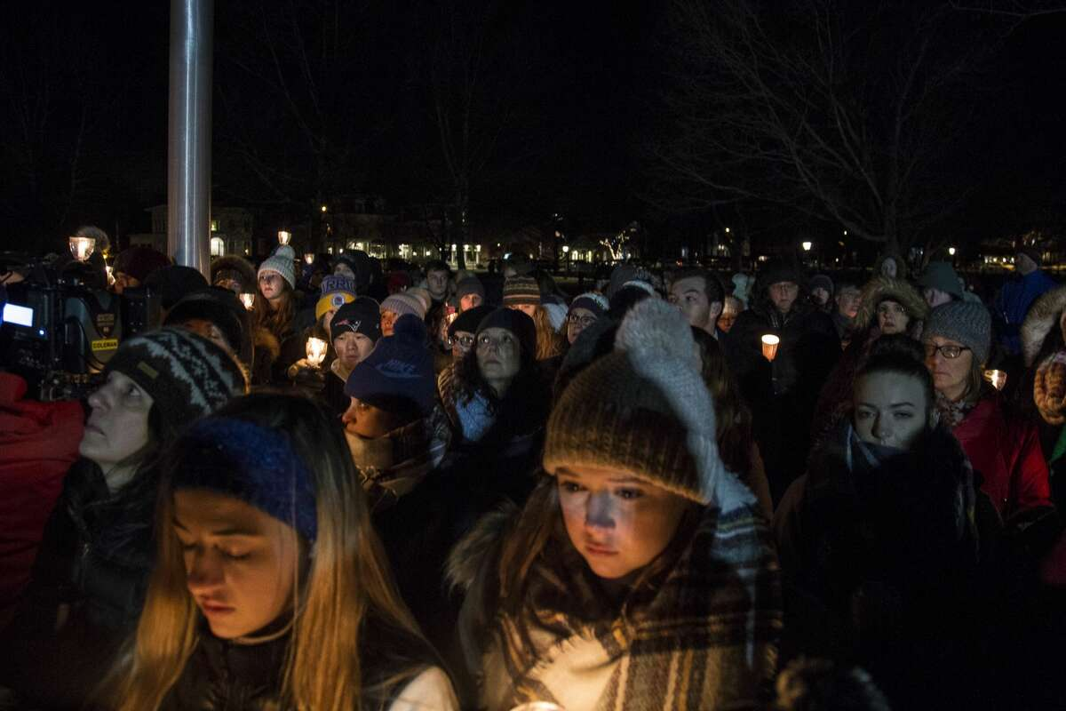 Candlelight vigil for Ethan Song in Guilford