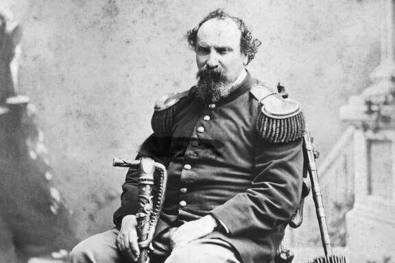 """Joshua A. (""""Emperor"""") Norton."""