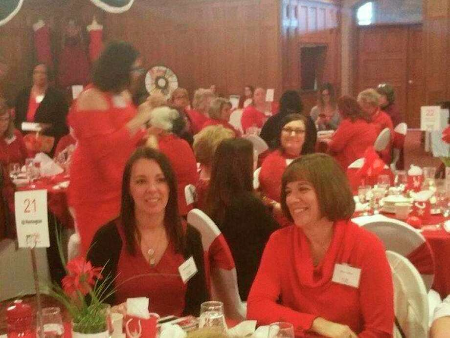 Three women from the Midland area shared their stories of surviving heart disease at the 2018 Go Red for Women Luncheon that took place Friday at Horizons Center in Saginaw.