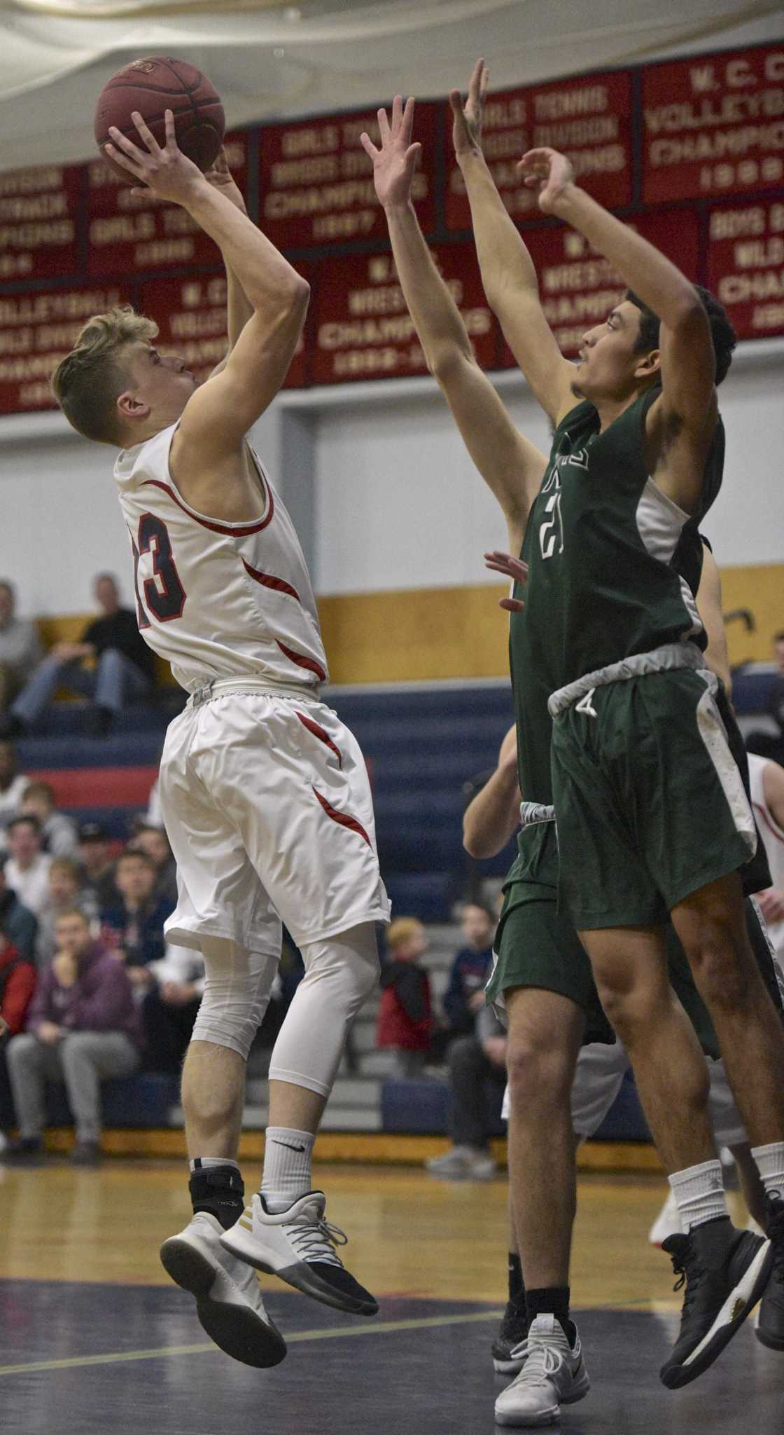 Boys basketball: New Milford tops New Fairfield to snap