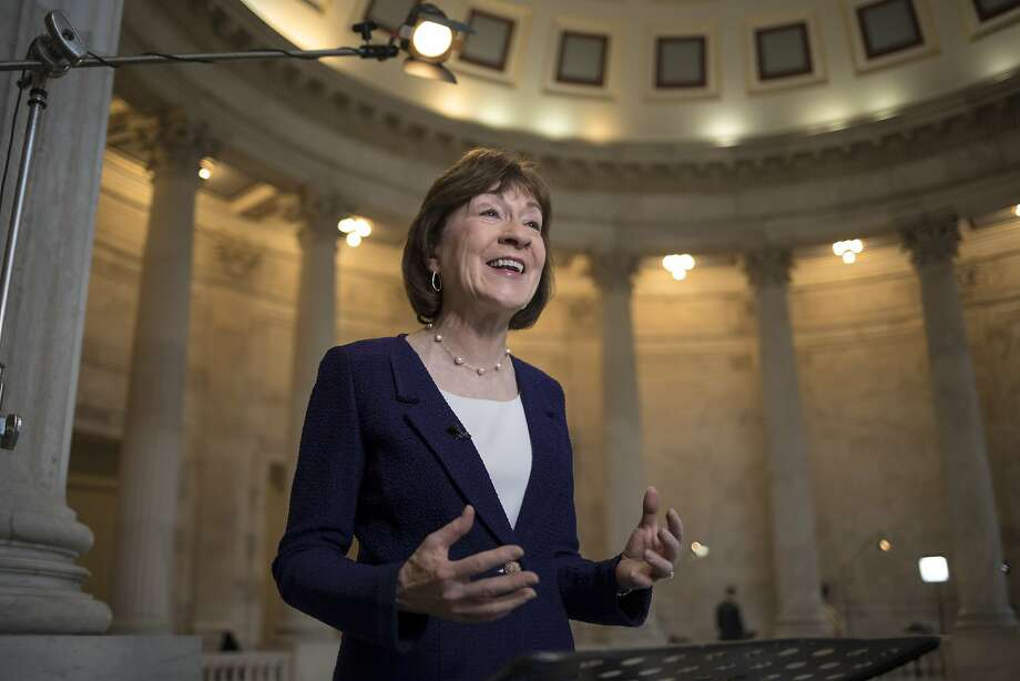 Sen. Susan Collins, R-Maine, is head of the Special Committee on Aging. She was one of a bipartisan group of senators who requested the government study. Photo: J. Scott Applewhite, Associated Press