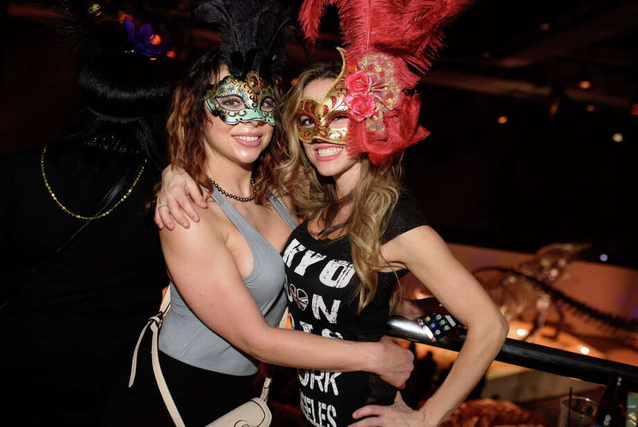 Mardi Gras Party at the Houston Museum of Natural Science on Friday, February 2, 2018 Photo: Jamaal Ellis J.vince Photography, For The Chronicle / 2018
