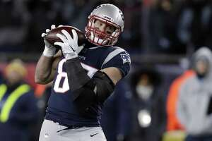 New England Patriots tight end Rob Gronkowski says he expects to play in Sunday's Super Bowl against the Philadelphia Eagles.