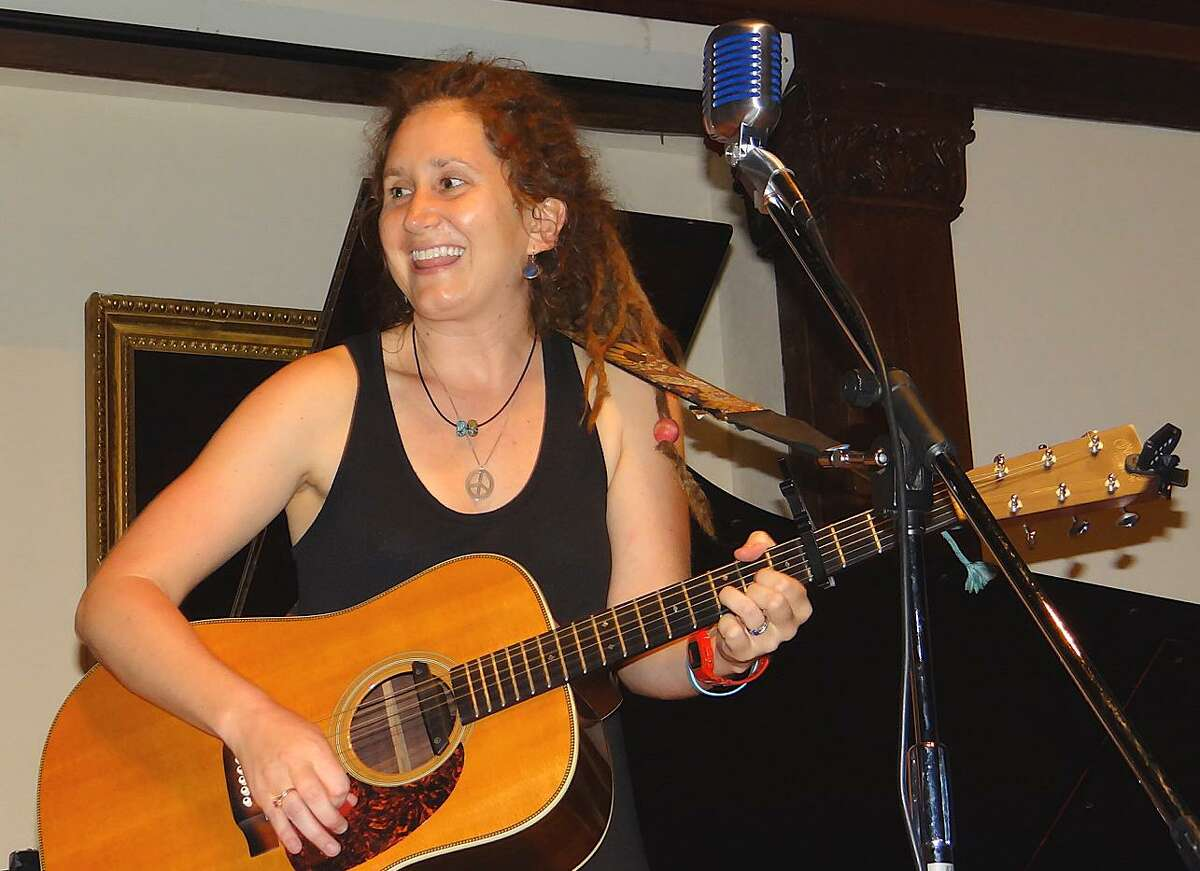 Kristen Graves of Fairfield was the state troubadour in 2015.