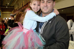 Maddison and A.J. Matthews were at the Garden Bros. Circus performance at Ford Park Saturday. Clowns, acrobats, daredevil motorcyclists and more entertained children and parents. Elephant rides and face painting activities were available before the show and during intermission. Photo taken Saturday, February 3, 2018 Kim Brent/The Enterprise
