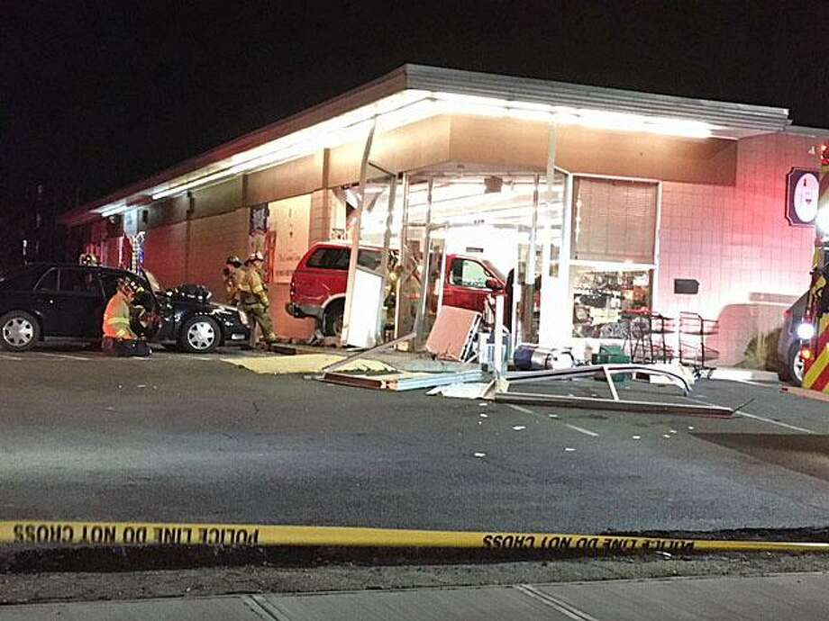 Milford PD: Man Arrested After Striking Pedestrian, Crashing Into Liquor Store
