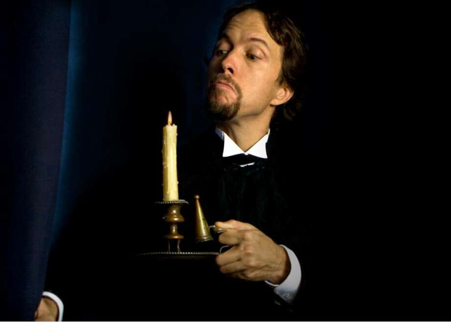 """David Anderson stars in Walking the Dog Theater's production of the one-man version of Charles Dickens' """"Christmas Carol."""" (Dan Region) Photo: Unknown"""