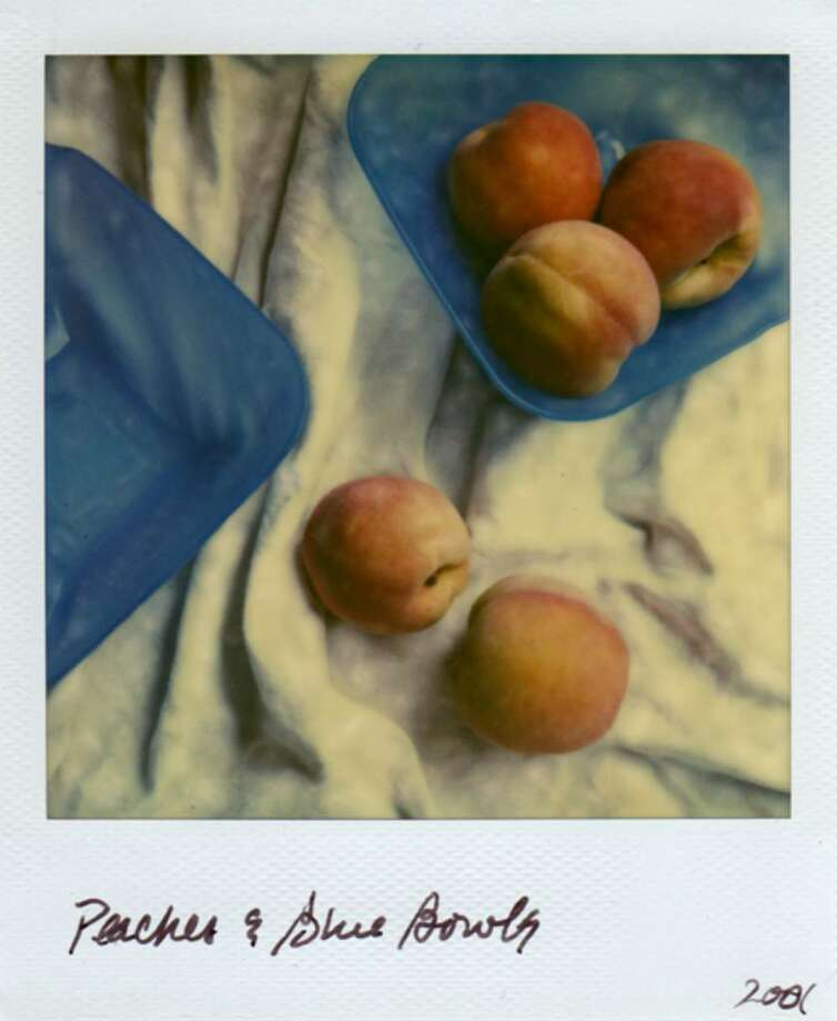 """Peaches & Blue Bowls,"" 2001 by Jeri Eisenberg"