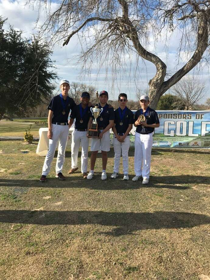 Alexander won the Del Rio Invitational Saturday led by Albert Flores who shot a 153 to win the individual title. Photo: Courtesy Photo