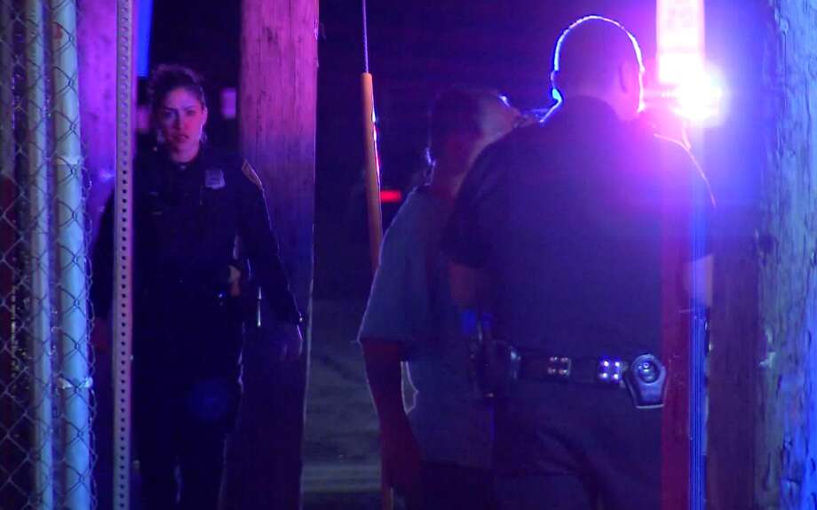 San Antonio police respond to a shooting on the West Side Saturday night, Feb. 2, 2018, that resulted in an hours-long standoff. Two people were injured in the shooting. Photo: 21 Pro Video