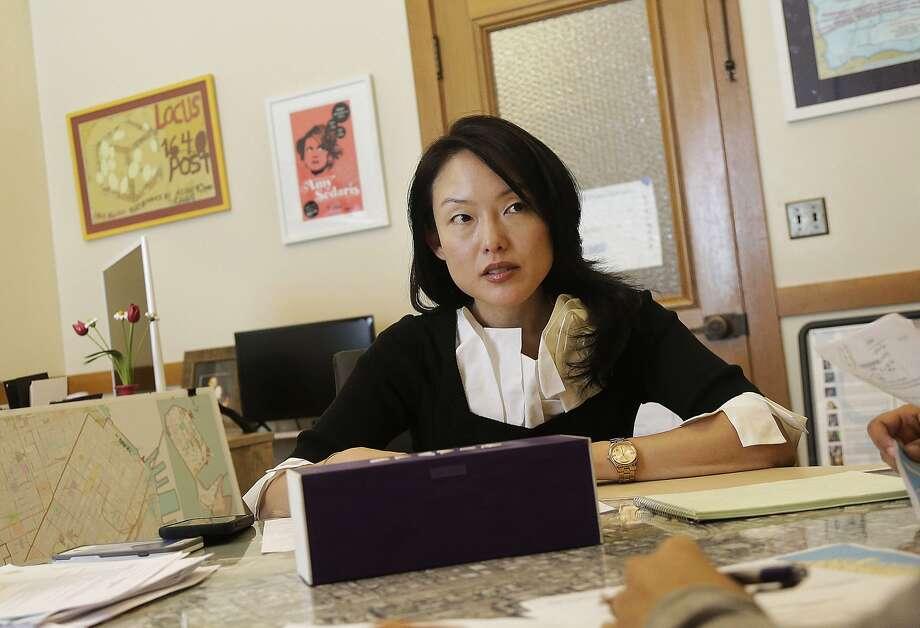Supervisor Jane Kim Photo: Jeff Chiu, Associated Press