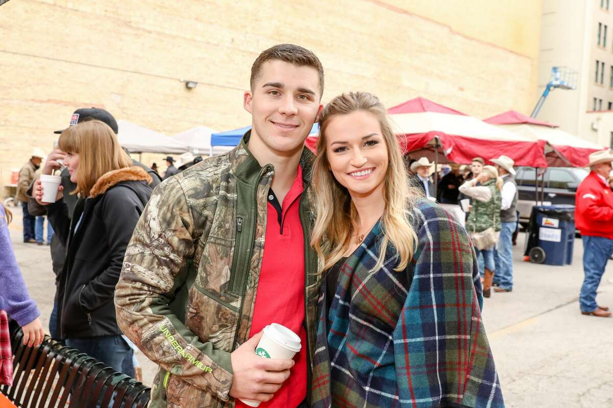 Hundreds of cowboys, cattle and rodeo fans took over downtown Saturday, Feb. 3, 2018, to line Houston Street for the annual Western Heritage Parade & Cattle Drive.