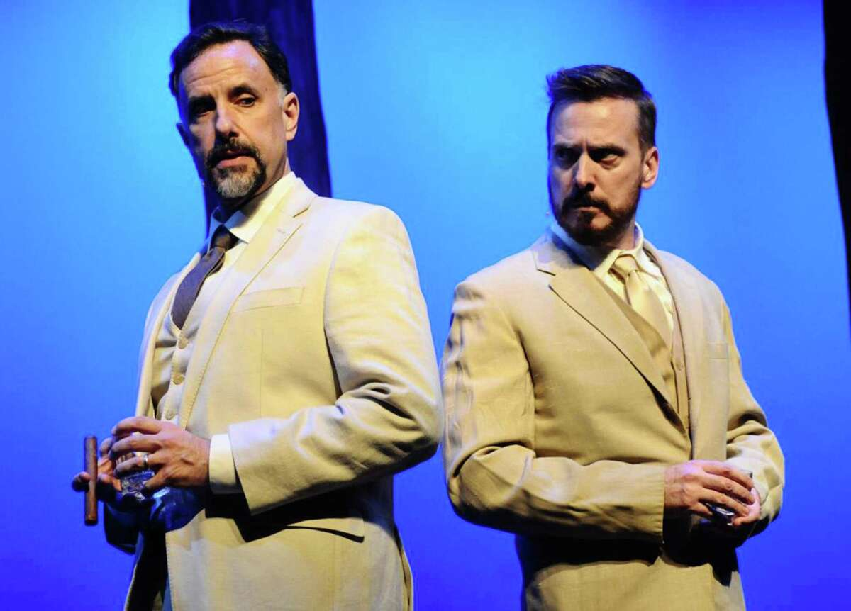 Singers Sam Mungo, left, and Kevin Grace performed Saturday night in Alamo City Opera's production of