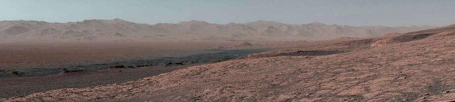Curiosity's 11-mile journey through Mars. Photo: NASA / NASA