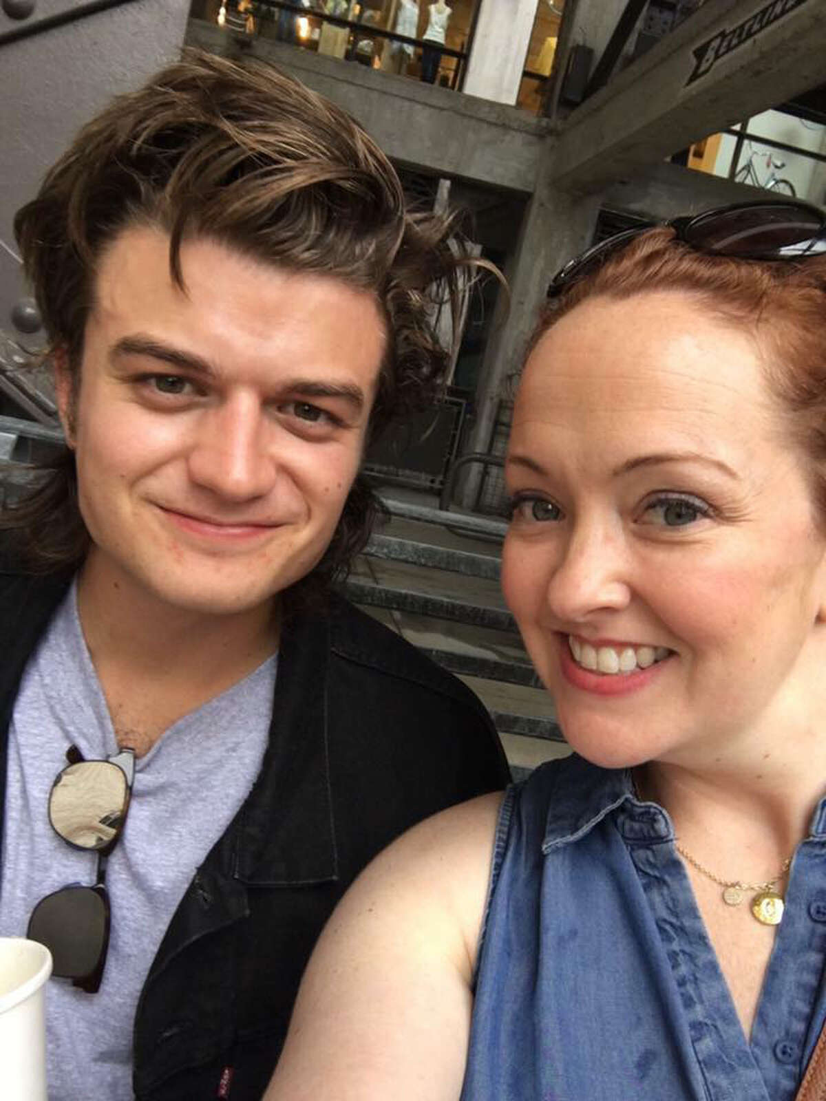 2. I have never watched Stranger Things, don't know much about it and really have no interest in watching it. However, I met star Joe Keery, he was really nice and totally up for taking a selfie with me even though I admitted I had no idea who he was.